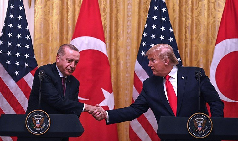 Erdoğan ile Trump'tan ortak basın toplantısı