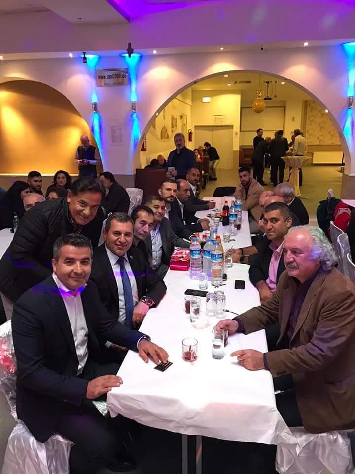 İmranlılar Almanya`da Belediye Başkanı Murat Açıl ile buluştular