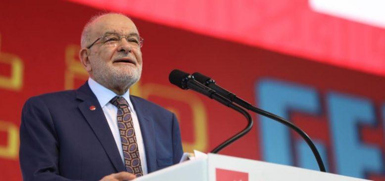 Karamollaoğlu Yeniden Saadet Partisi Genel Başkanı Oldu