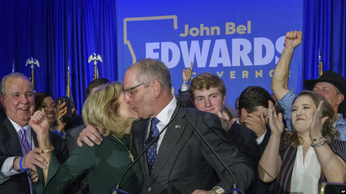 Louisiana'da Zafer Demokratlar'ın