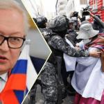 Rusya Bolivya'da Anez'i geçici başkan olarak tanıdı