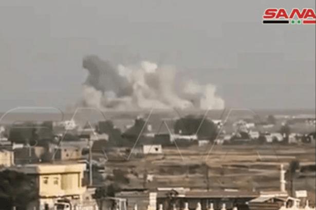 SANA: TSK ve ÖSO Tel Temir kırsalını bombaladı