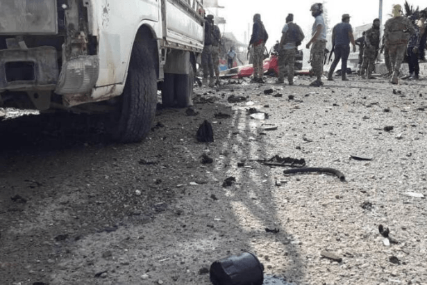 Tel Abyad'da bomba yüklü araç saldırısı