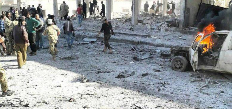 Tel Abyad'ta Bombalı Saldırı