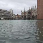 Venedik'in Ünlü San Marco Meydanı Sular Altında