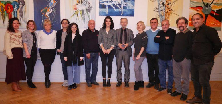 Berlinli gazetecilerden Kasım toplantısı