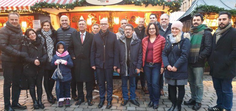 Dört asırlık dünyaca ünlü Nürnberg Noel Pazarı açıldı