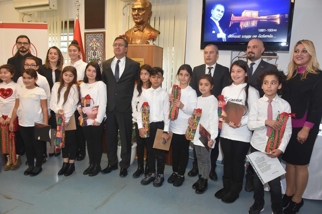 Atatürk, Nürnberg'de saygı, sevgi ve minnetle ile anıldı