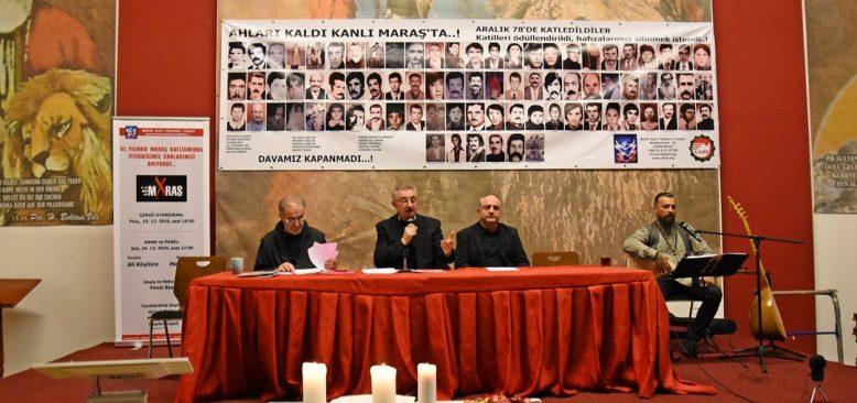 Berlin`de Maraş Katliamı kurbanları anıldı