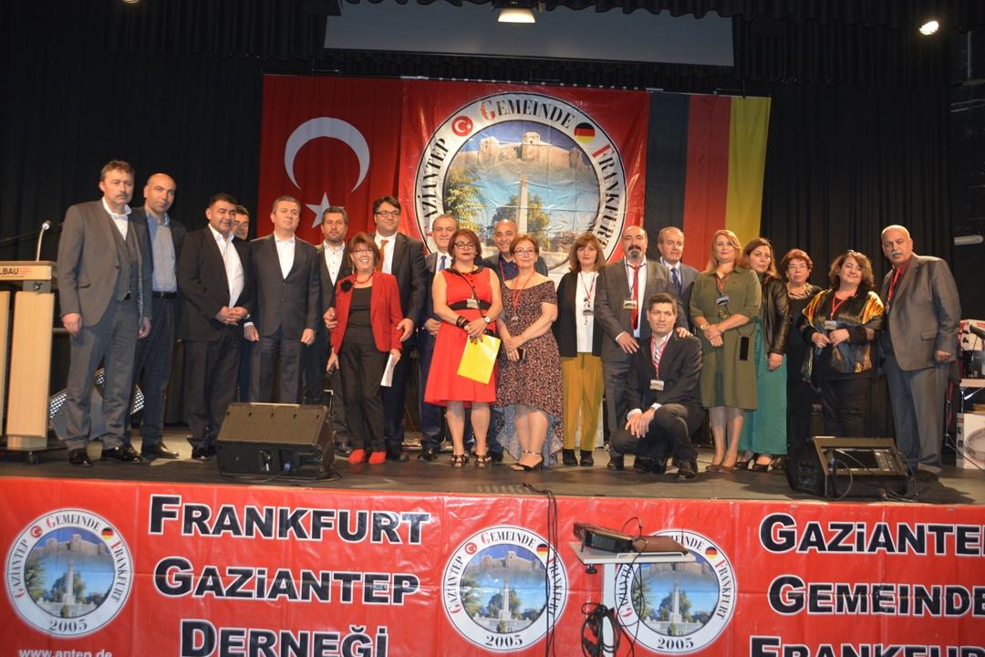 Frankfurt`ta Gaziantep rüzgârı esti