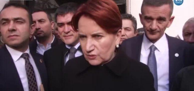 """Akşener: """"Kanal İstanbul Seçimi Kaybettirecek"""""""