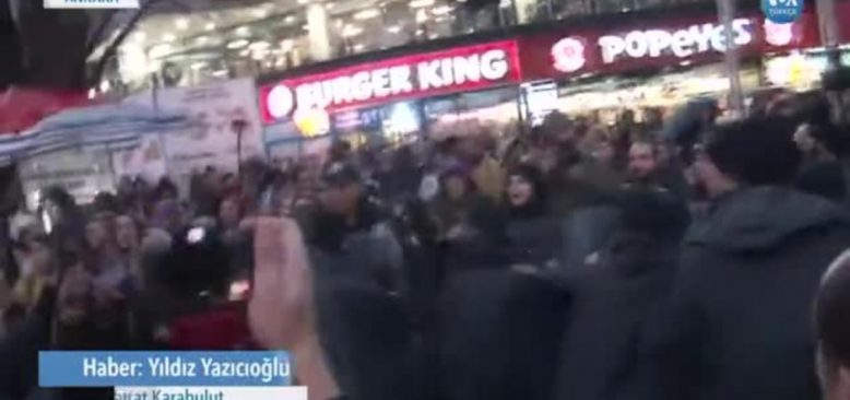 Ankara'da Kadınların Danslı Protestosuna Sert Polis Müdahalesi