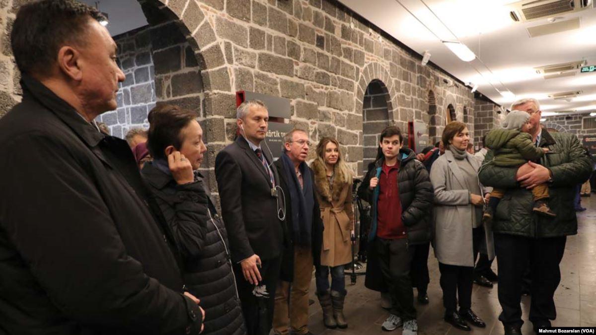 Büyükelçilerden Diyarbakır'a 'Turistik' Gezi