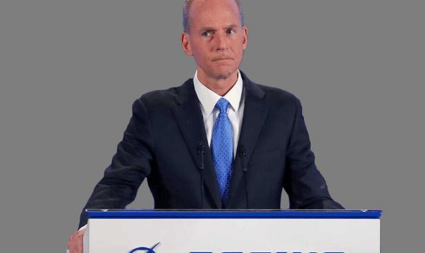 Boeing'in CEO'su görevden alındı