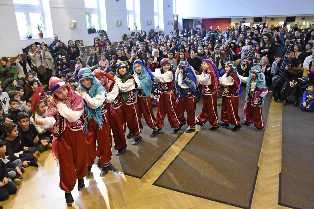 Berlin`de geleneksel Gağan kutlaması yapıldı
