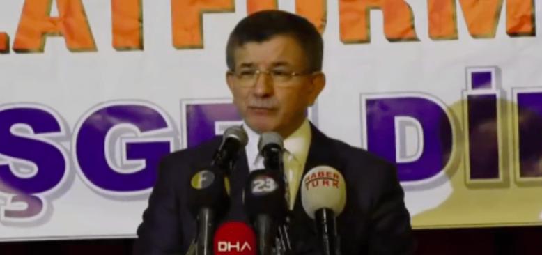 Davutoğlu'nun 'Gelecek Partisi'nin Kuruluş Dilekçesi Bakanlığa Verildi