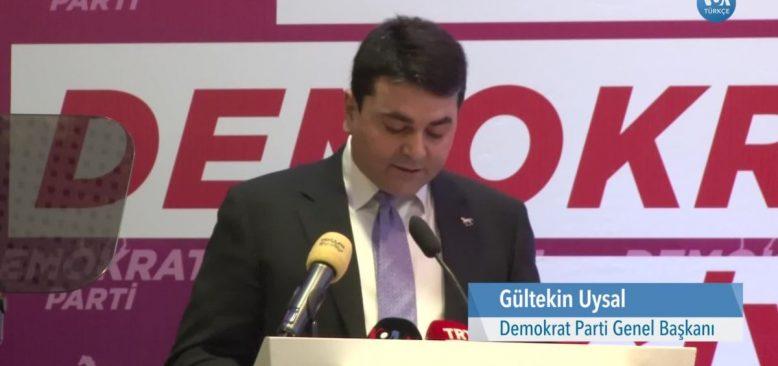 Demokrat Parti'den 'Türkiye İçin Demokrasi' Çağrısı