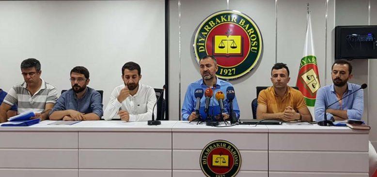 Diyarbakır Barosu'na Basın Açıklaması ve Rapor Davası