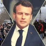 Eylemler Macron'u sıkıştırdı