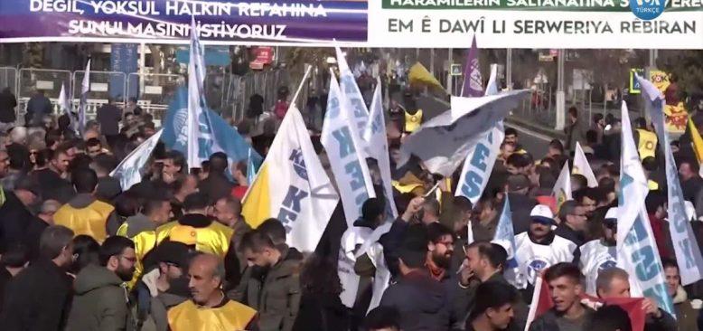 KESK'ten Diyarbakır'da 'Bütçe' Mitingi