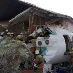 Kazakistan'da Yolcu Uçağı Kalkış Anında Düştü