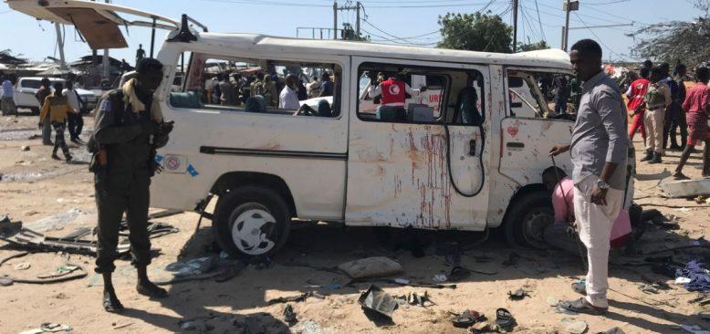 Mogadişu'daki Saldırıda 60'tan Fazla Kişi Hayatını Kaybetti