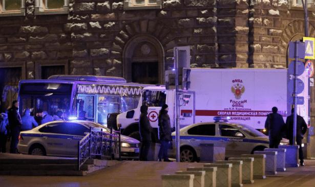 Moskova'da silahlı saldırı