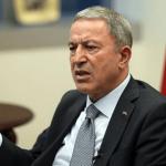 Savunma Bakanı Akar: Yalnız bırakıldık