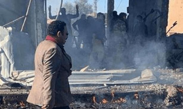TSK ve ÖSO kontrolündeki kasabada bombalı saldırı: 5 kişi yaşamını yitirdi