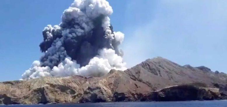 Yeni Zelanda'da Yanardağ Patlamasında Can Kaybı 16 Oldu