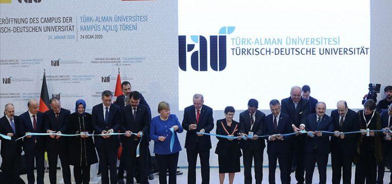 Türk-Alman Üniversitesi açıldı