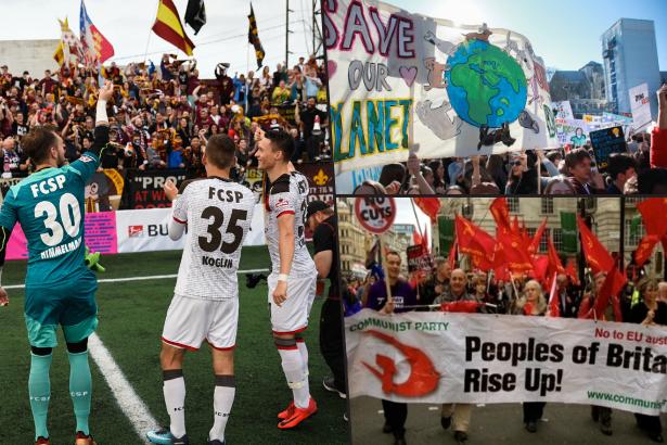 İngiltere'de terörle mücadele listesinde futbol takmı St Pauli, Komünist Parti ve Greenpeace yer aldı
