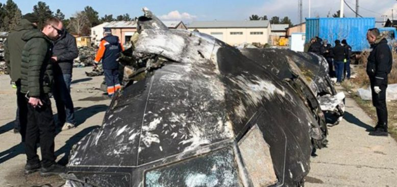İran Düşürdüğü Uçağın Kara Kutusunu Ukrayna'ya Gönderecek