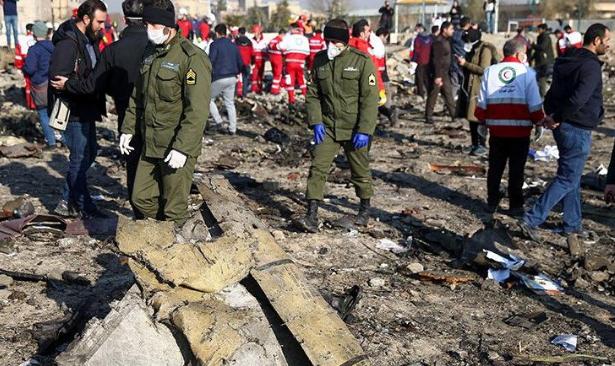 İran düşen uçağın karakutusunu Fransa'ya gönderiyor