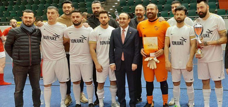 TSKV Frankfurt Hessen Eyaleti Atatürk kupası şampiyonu