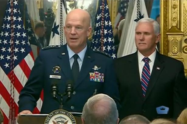 ABD Uzay Kuvvetleri Komutanı resmen göreve başladı