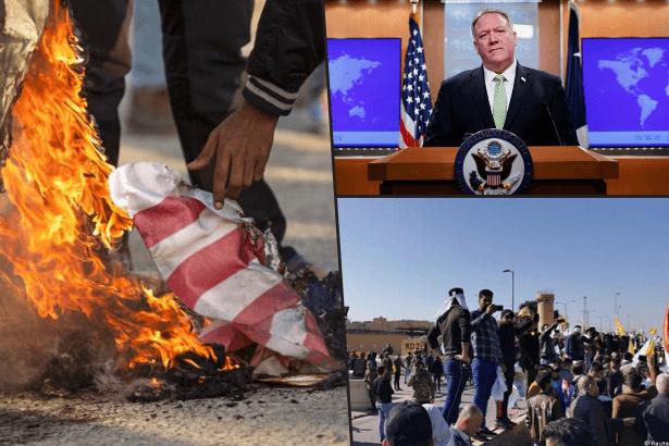 ABD'ye göre Irak'taki konsolosluk protestosu eylemcilerin değil, 'teröristlerin' işi