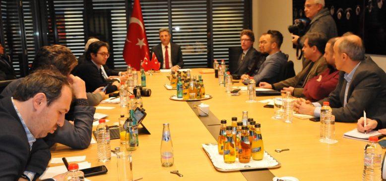 Türkiye'nin Berlin Büyükelçisi Aydın Türk-Alman ilişkilerini değerlendirdi:
