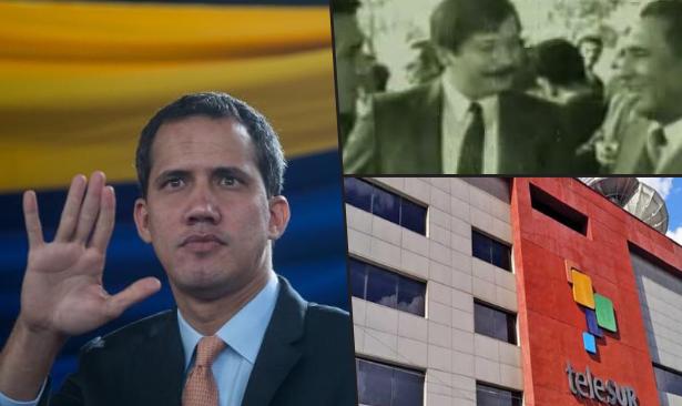 Başarısız darbeci Guaido, teleSUR'un başına CIA işbirlikçisi katili 'kayyum atadı'