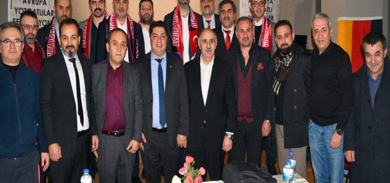 Avrupa Yozgatlılar Federasyonu çalışmalarını hızlandırdı