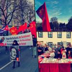 Berlin'de Rosa Luxemburg ve Karl Liebknecht anması