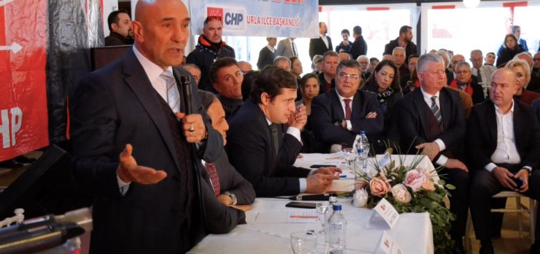 CHP'den Urla'ya Kayyum'a Karşı 'Halk İradesi' Çıkartması