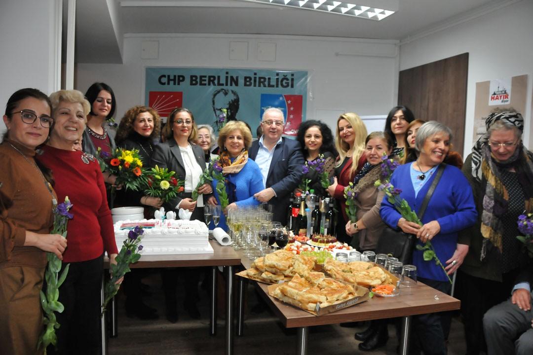 CHP Berlin Birliği 7 yaşında