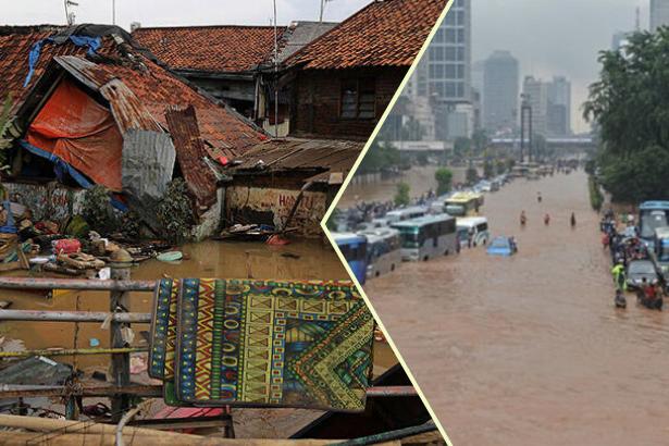 Endonezya'da sel: 60 ölü