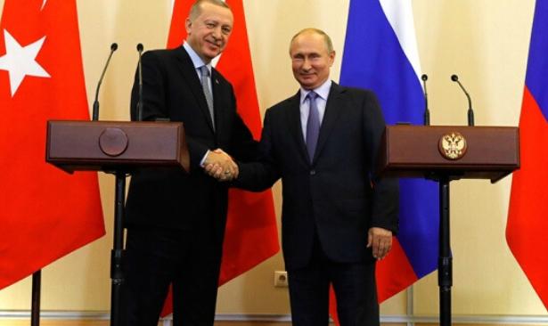 Erdoğan ve Putin'den Libya'da ateşkes çağrısı