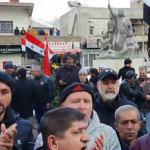 Golan Tepeleri'nde İsrail işgaline karşı eylem düzenlendi