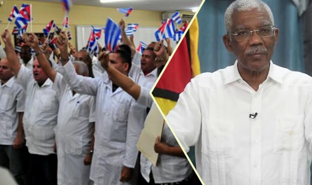 Guyana devlet başkanı tedavi için Küba'da
