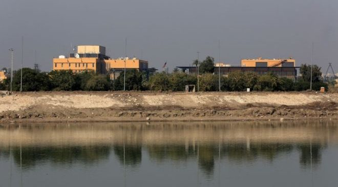 Irak'taki ABD Büyükelçiliği'ne roketli saldırı: Yaralılar var