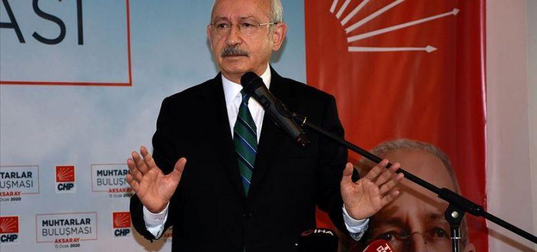 Kılıçdaroğlu: Dış politikayı barış eksenli yapmamız lazım