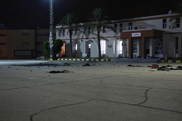 Libya'da askeri okula hava saldırısı: 30 ölü, 33 yaralı